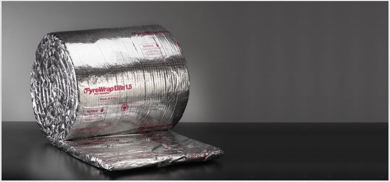 Unifrax FyreWrap duct wrap Insulation