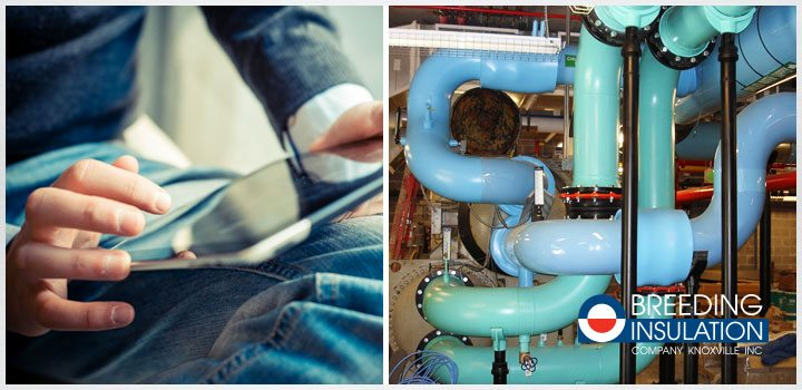 Using Wireless Sensors to Monitor Commercial Pipe Insulation