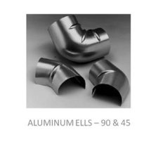 Image of three aluminum ells.